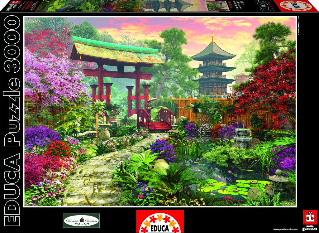 Puzzle Japonská zahrada 3000 dílků