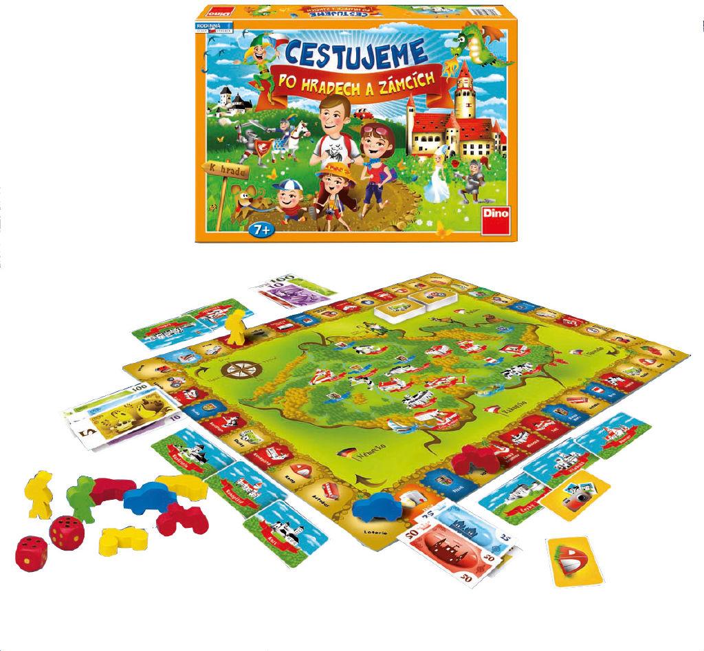Hra Cestujeme po hradech a zámcích