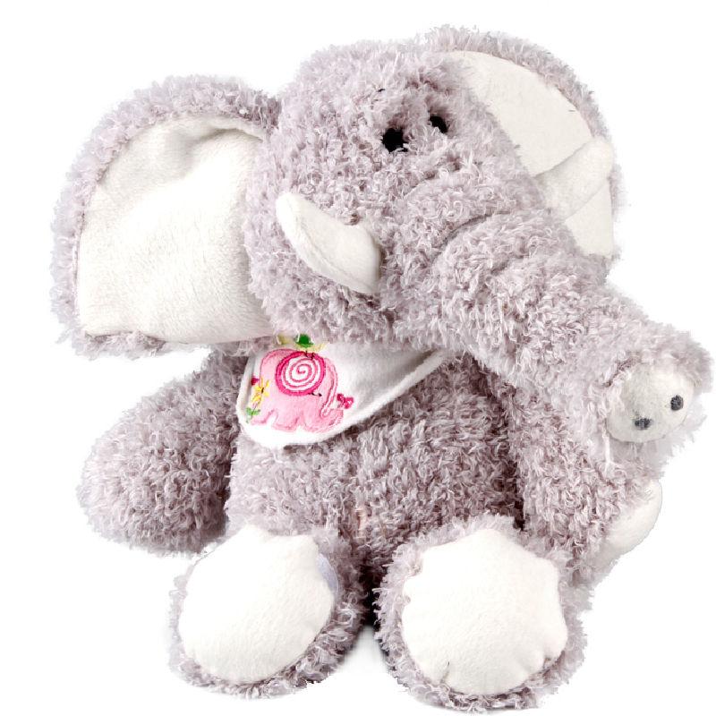 Slon s podbradníky 25 cm