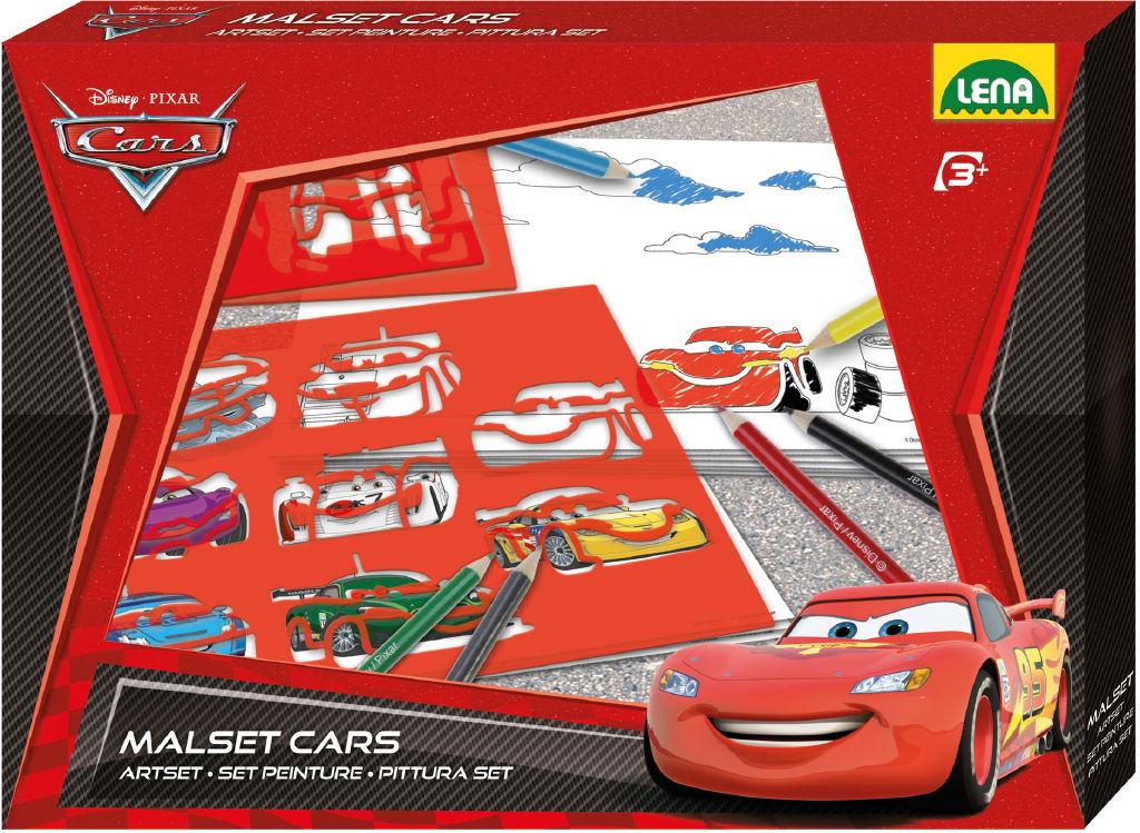 Kreslící šablony Disney Cars