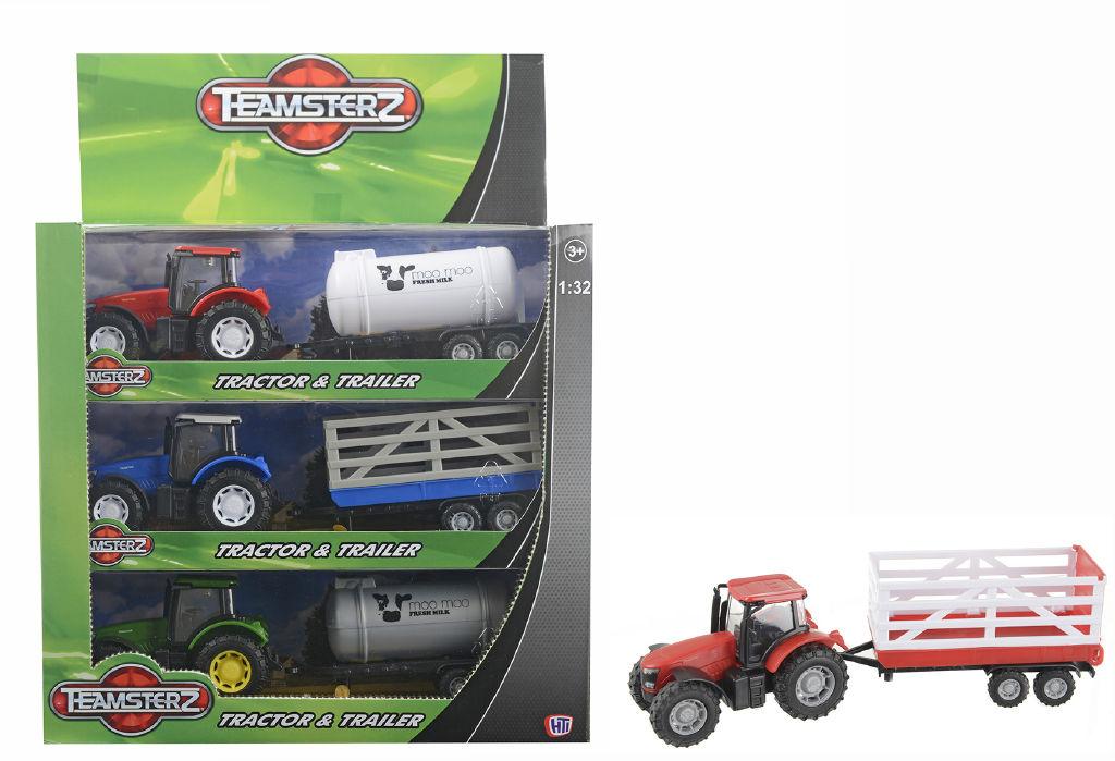 Teamsterz traktor s valníkem
