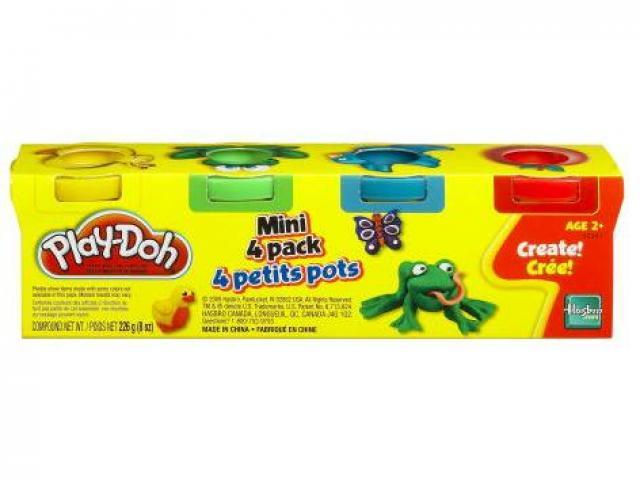 Play-Doh mini, 4 pack