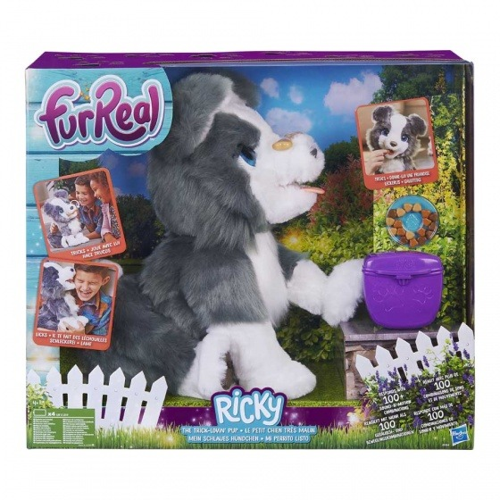 Hasbro Fur Real Friends Ricky nejlepší psí kamarád