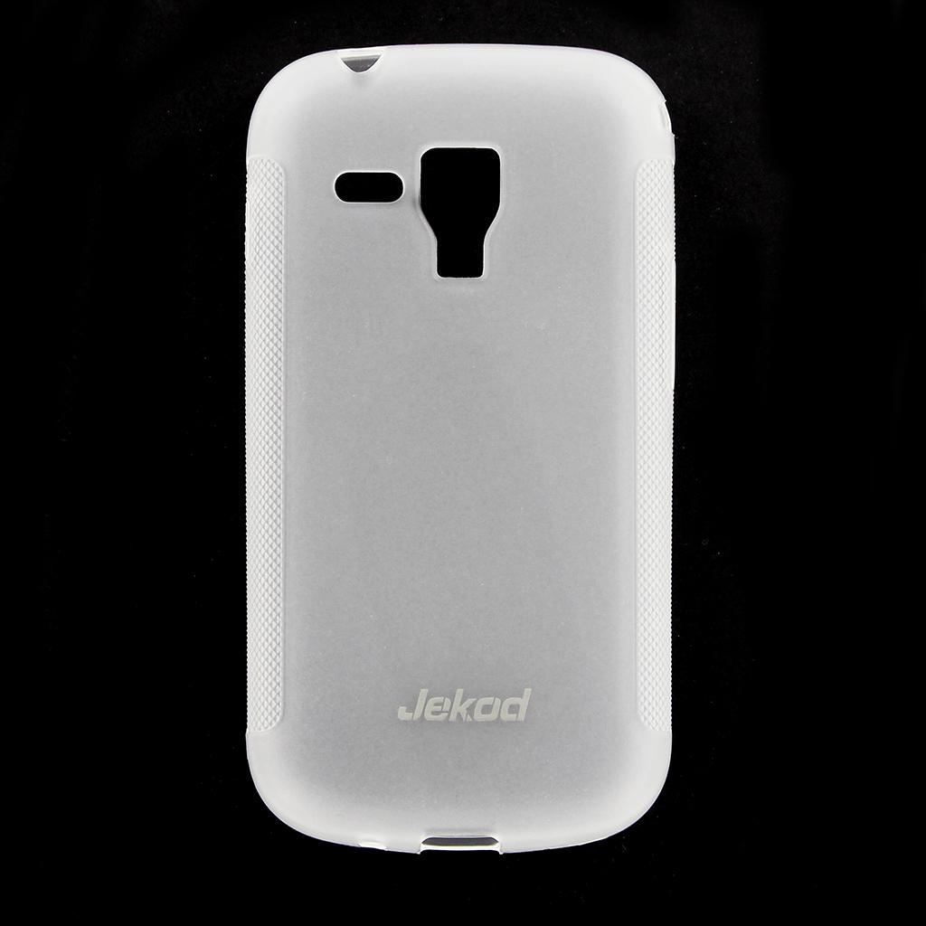 JEKOD TPU Ochranné Pouzdro White pro Samsung S7580