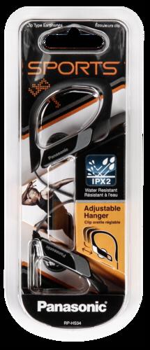 Sluchátka Panasonic RP-HS 34 E-K, černá