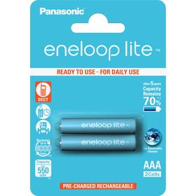 Baterie 1x2 Panasonic Eneloop Lite Micro AAA 550 mAh
