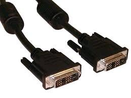 Kabel přípoj DVI-DVI, M/M, 3m DVI-D, dual link