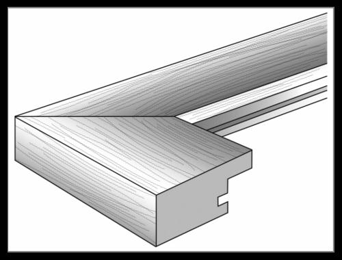 Rámeček Walther Home 3x13x18, dřevo, šedý