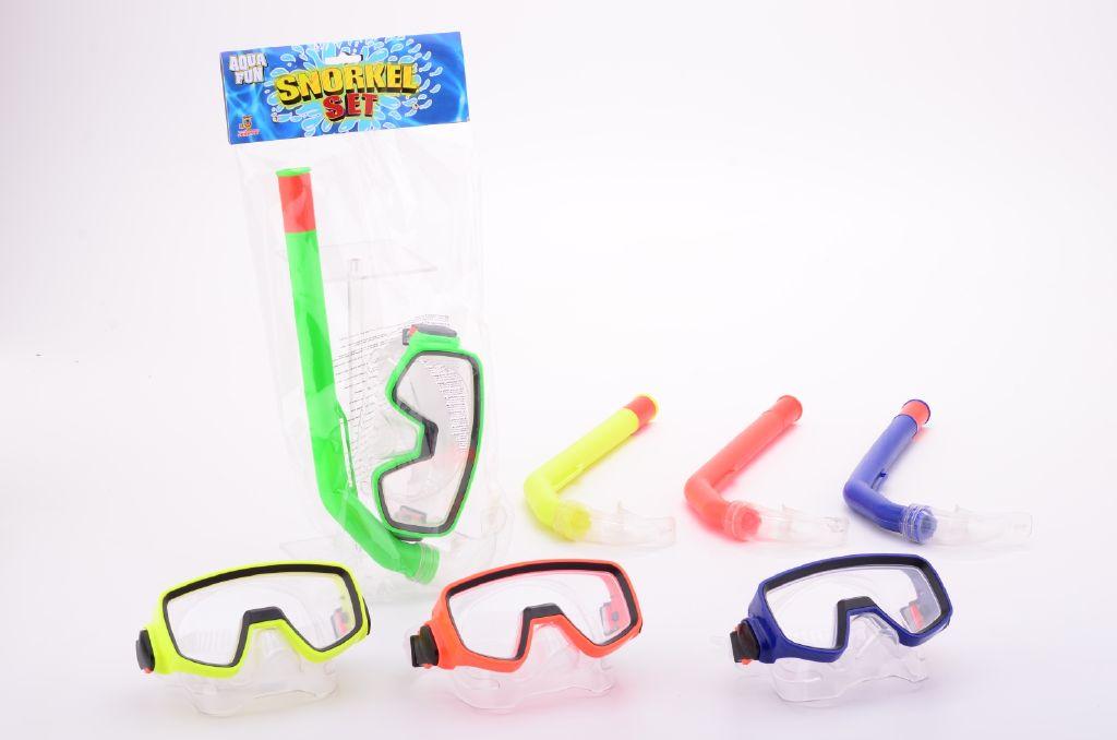 Potapěčské brýle se šnorchlem