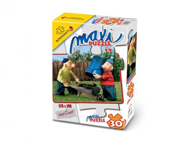 Puzzle maxi 30 Pat a Mat