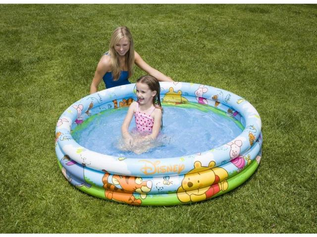 Bazén 3kruhový Medvídek Pú