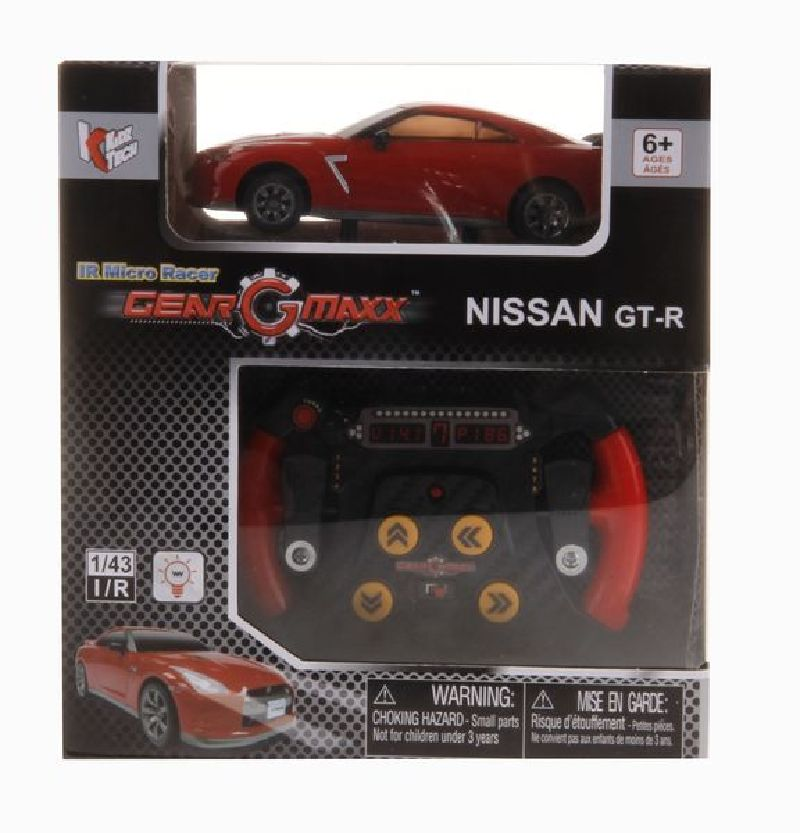 I/R auto Nissan GT-R 1:43