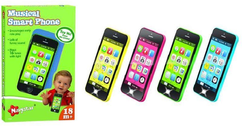 Telefon pro nejmenší černo - barevný