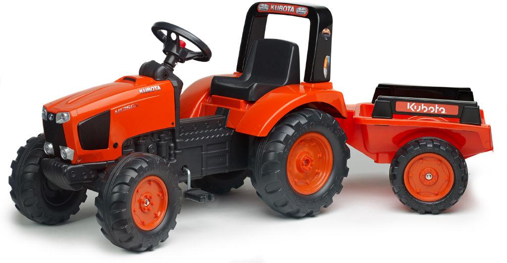 Traktor Kubota + vlek