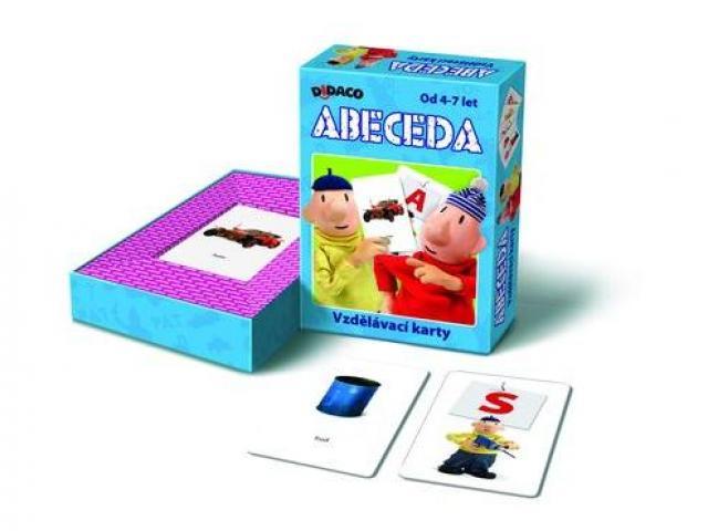 Vzdělávací karty Abeceda PAT a MAT