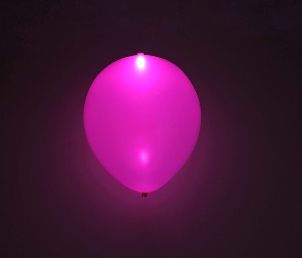 Nafukovací balónky svítící a blikající
