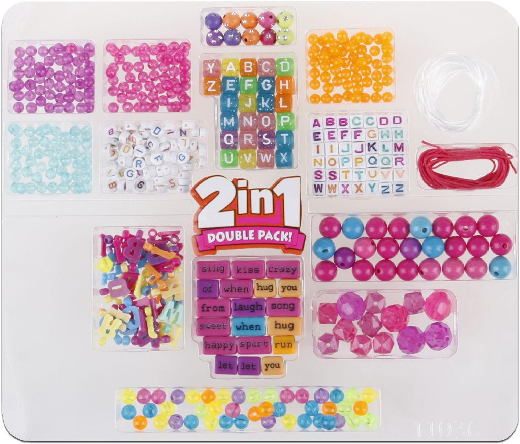 Korálkový set 2v1 - korálky s písmenky