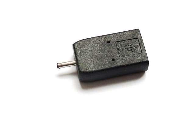 Adaptér microUSB - 2mm k nabíječkám