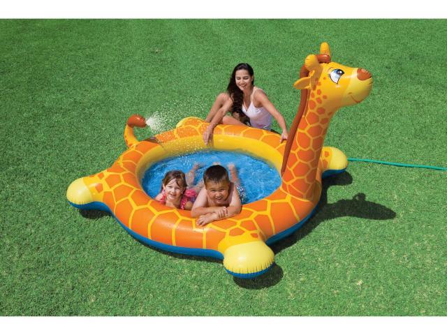 Bazén nafukovací žirafa