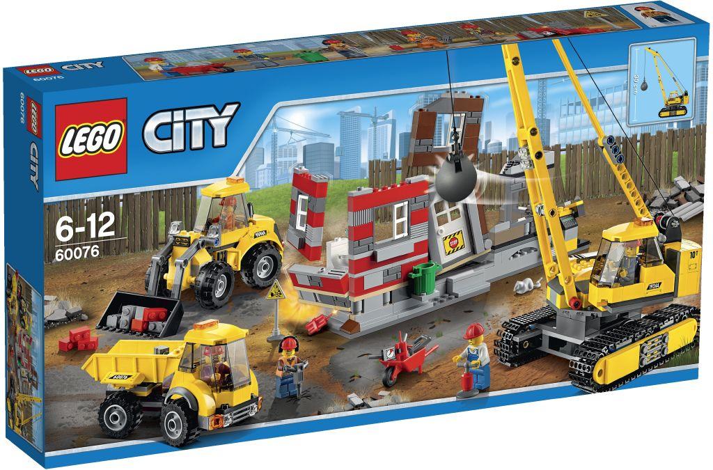 Lego City 60076 Demolicni prace na stavenisti