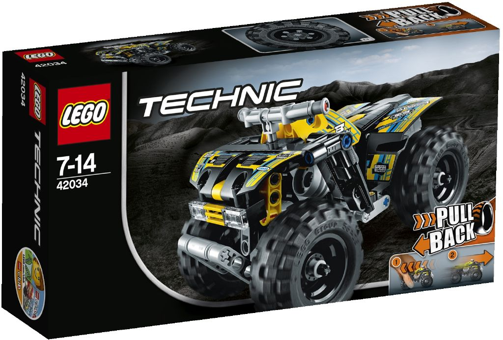 Lego Technic 42034 Ctyrkolka