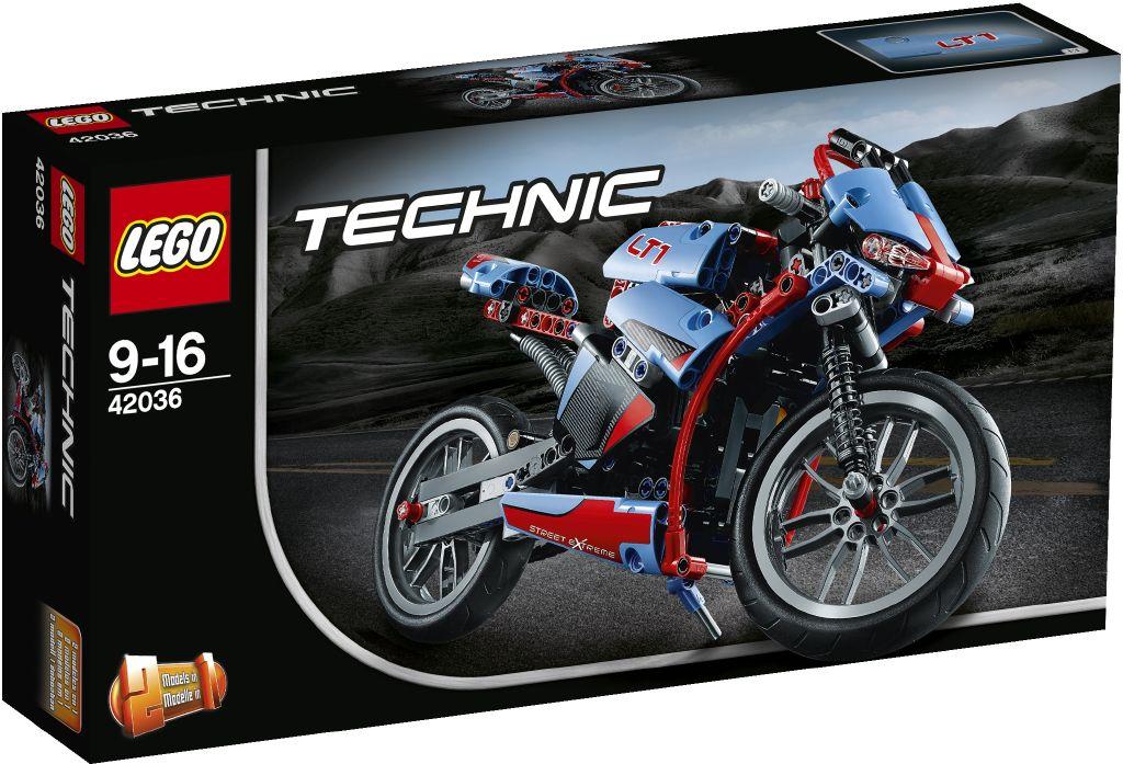 Lego Technic 42036 Silnicni motorka