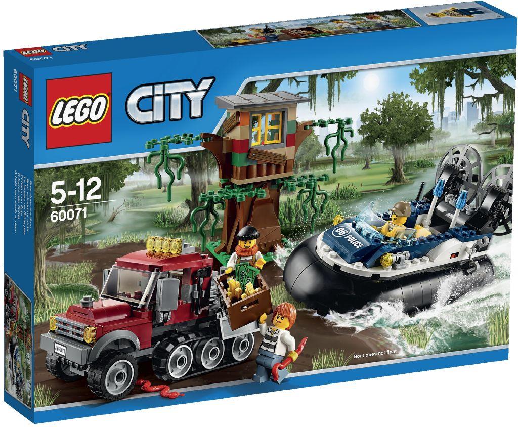Lego City 60071 Zadrzeni vznasedlem