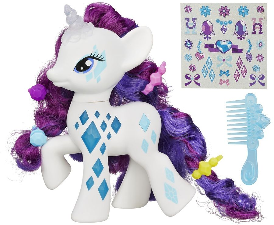 My Little Pony fosforeskující rarity