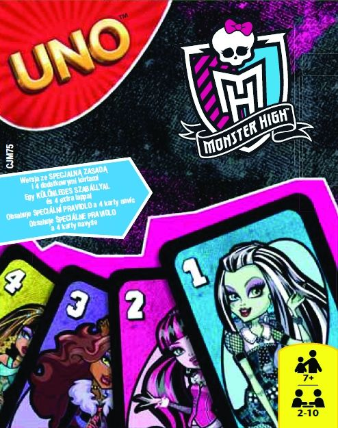 Uno Monster High 2