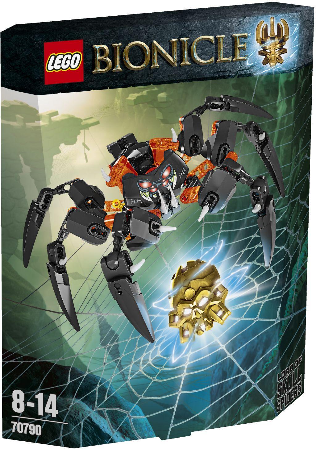 LEGO BIONICLE Pán pavouků - lebkounů