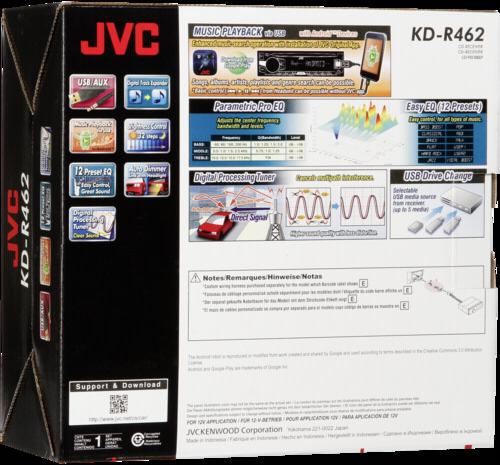 JVC KD-R462E blue