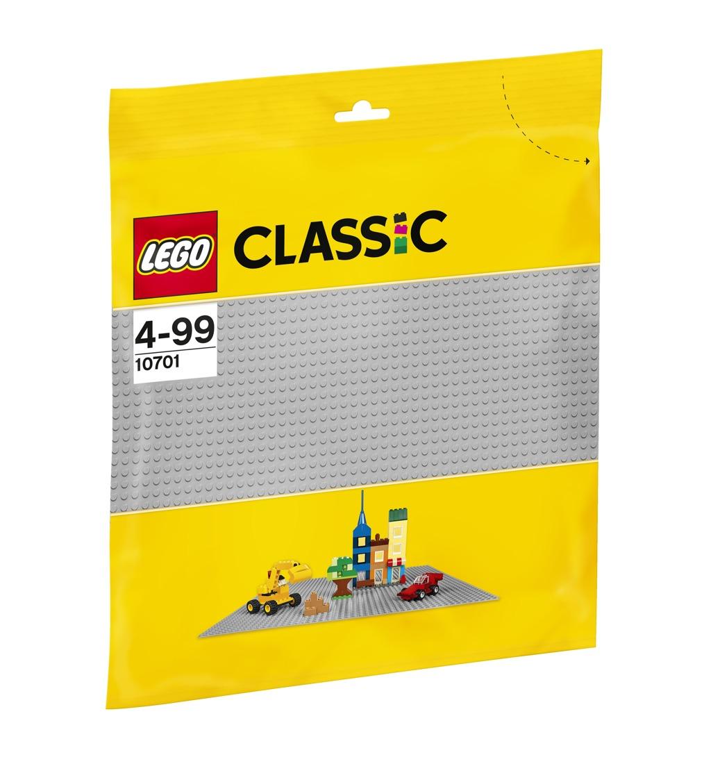 LEGO Šedá podložka na stavění