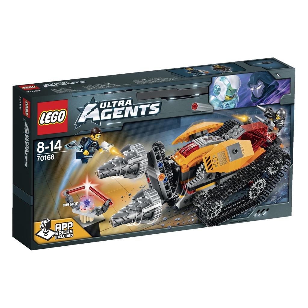 LEGO Agents Drillex krade diamant