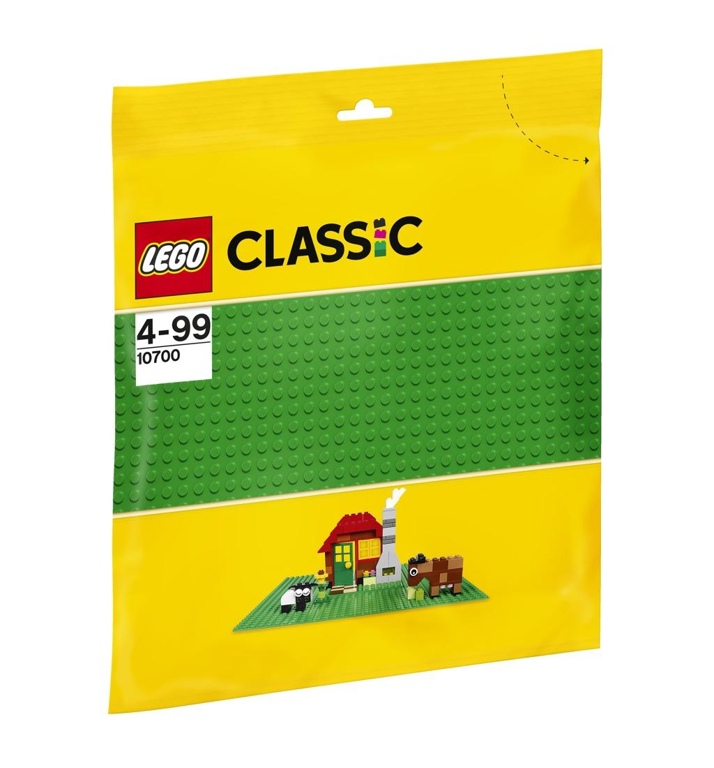 LEGO Zelená podložka na stavění