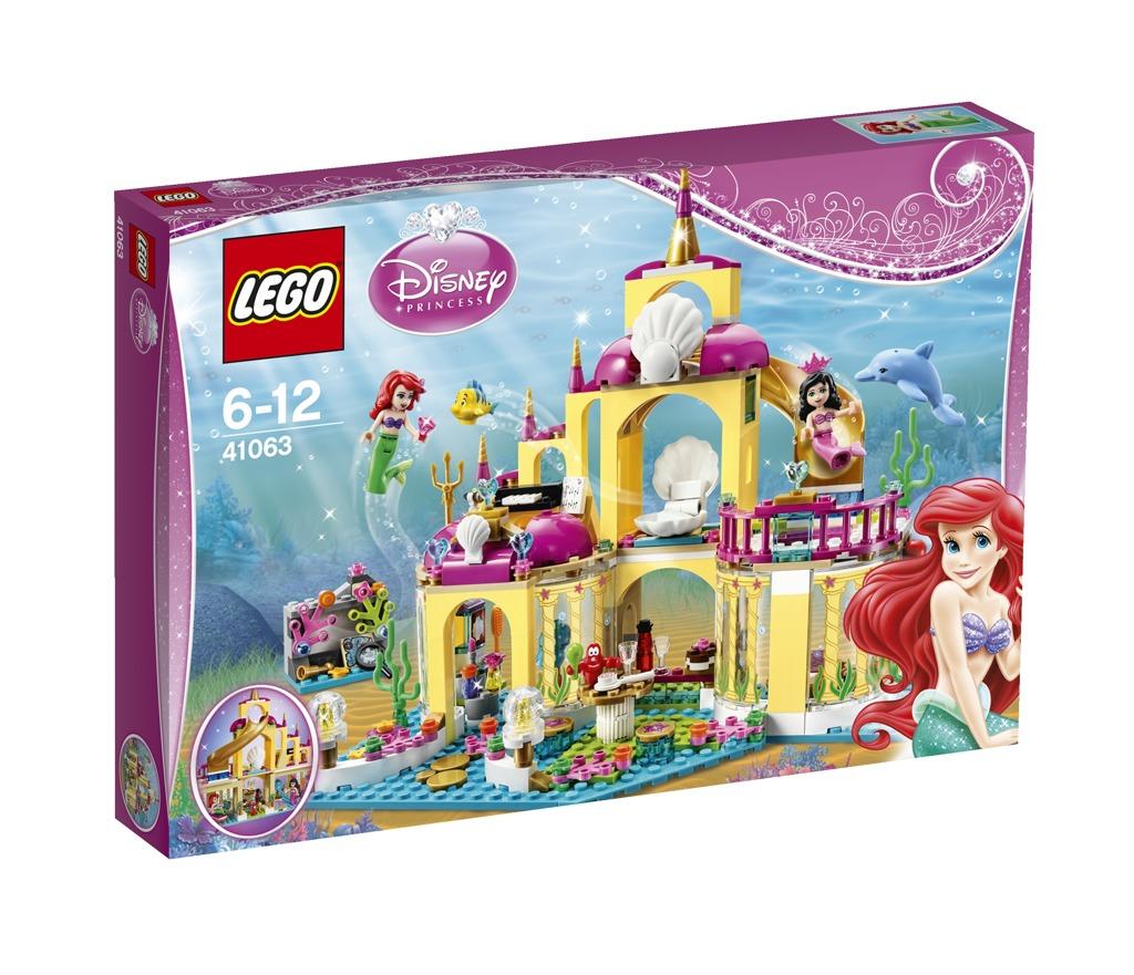 LEGO Disney Princezny Podvodní palác Ariely