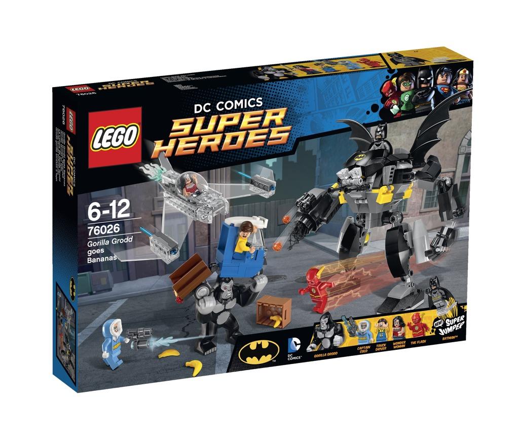 LEGO Super Heroes Řádění Gorily Grodd