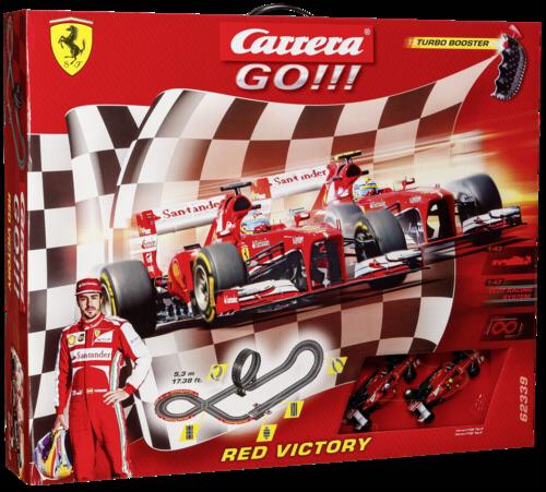 Carrera GO!!! cervena Victory 62339