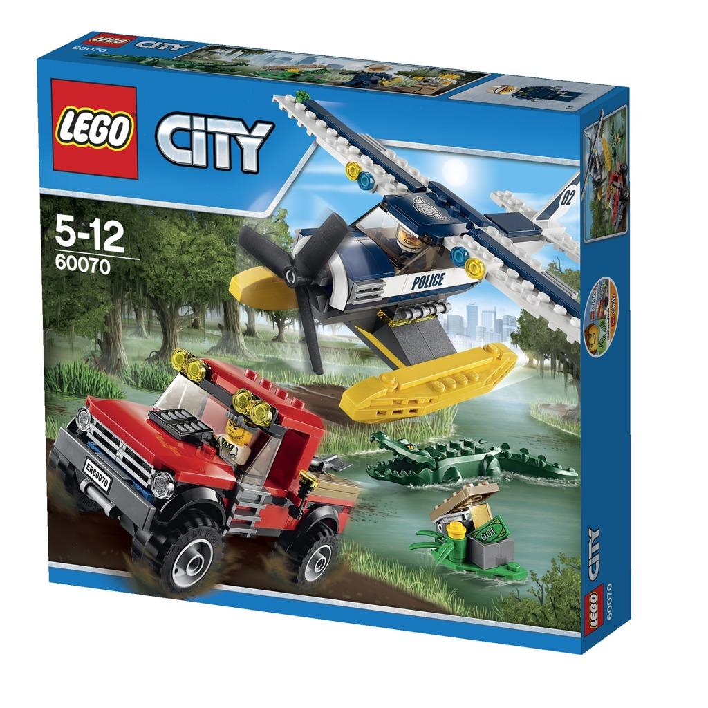 LEGO City Pronásledování hydroplánem