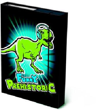 Box na sešity A4 Prehistoric Funny