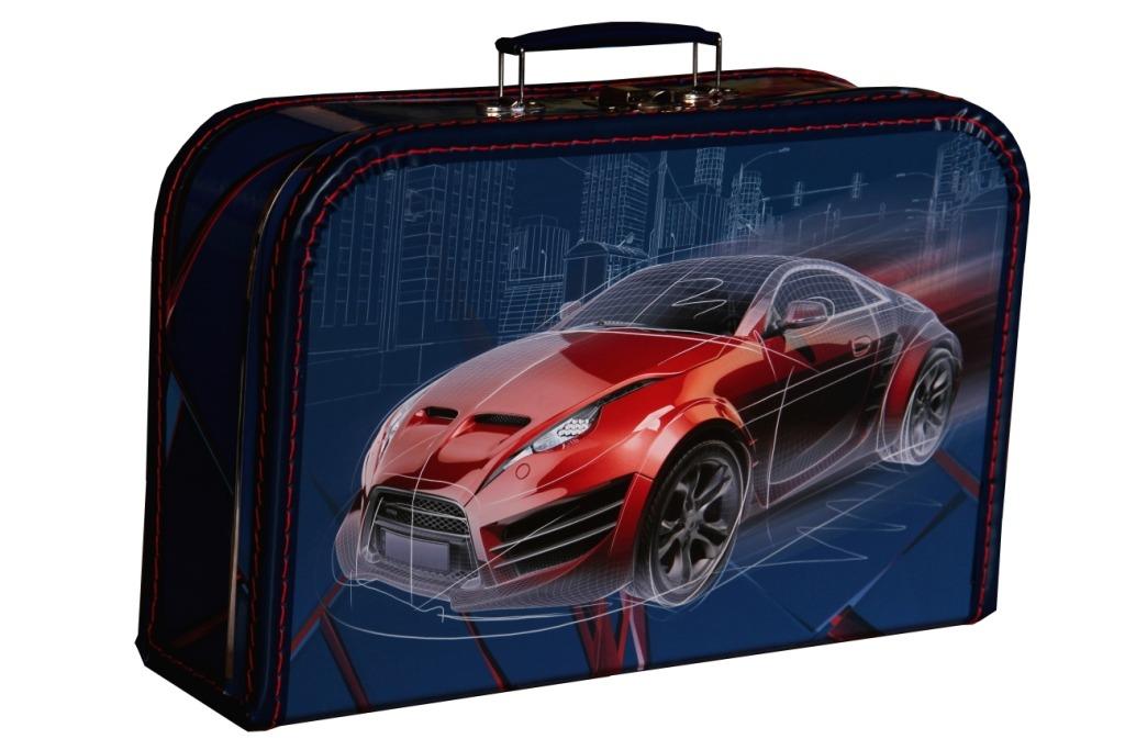 Kufřík Závodní auto 35 cm