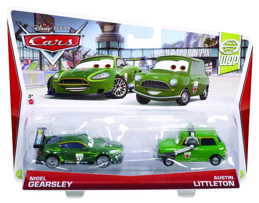 Mattel Cars2 2ks kolekce auto