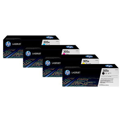 HP 305A - azurový Contract Toner, CE411AC