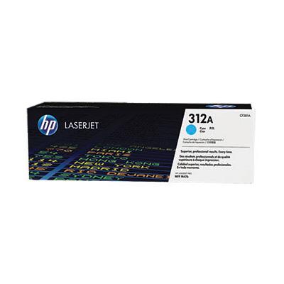 HP 312A - azurový Contract Toner, CF381AC