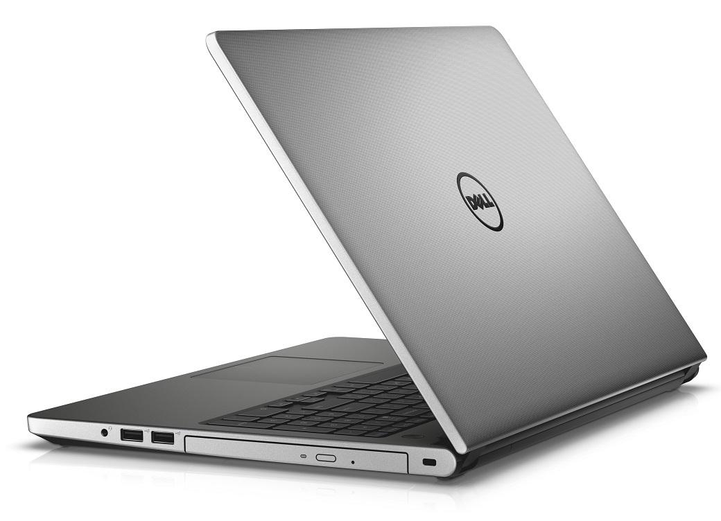 """Dell Inspiron 5559 15"""" HD i5-6260U/4GB/500GB/Intel HD/HDMI/USB/RJ45/WIFI/BT/MCR/W10P/3RNBD/Stříbrný"""