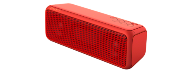 Sony bezdr. reproduktor SRS-XB3 ,BT/NFC,červený