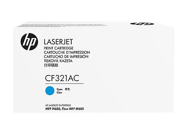 HP 653A - azurový Contract Toner, CF321AC