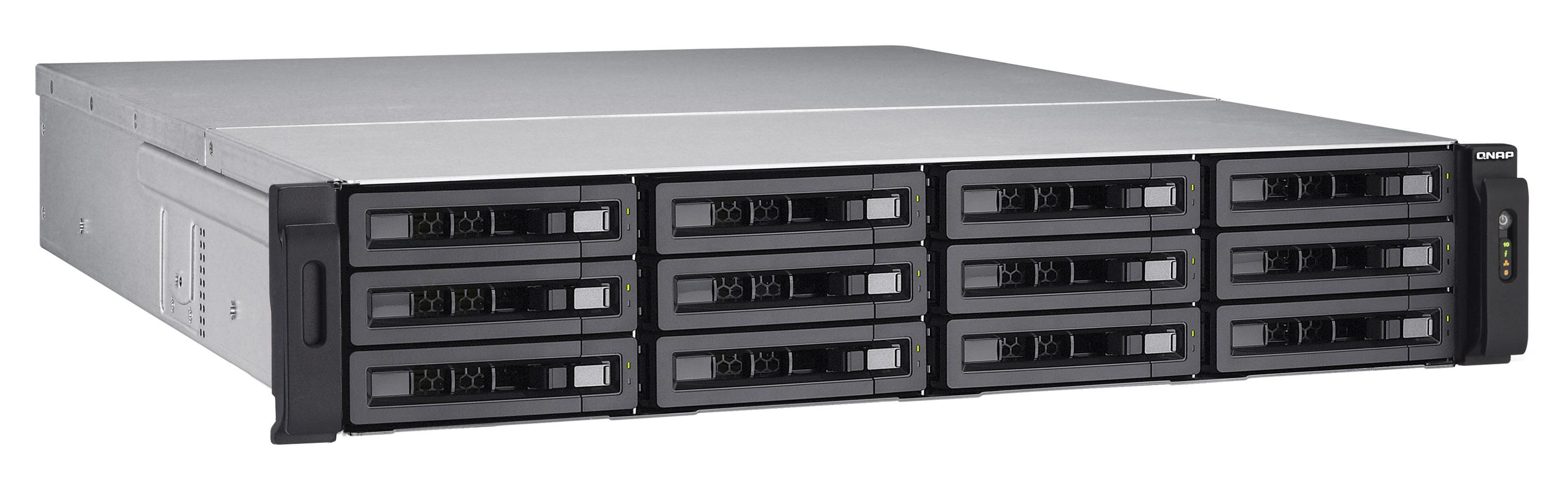 QNAP TS-EC1280U-i3-8G-R2 (3,5GHz/8GB ECC/12xSATA)