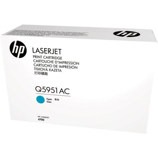 HP azurový Contract Toner, Q5951AC