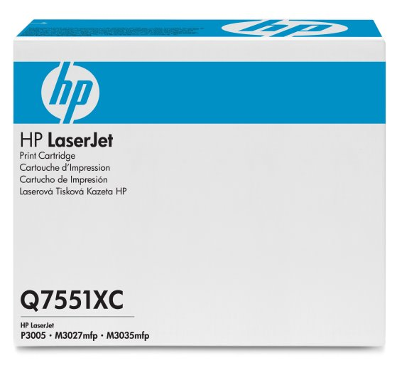 HP 51X - černý Contract Toner, Q7551XC