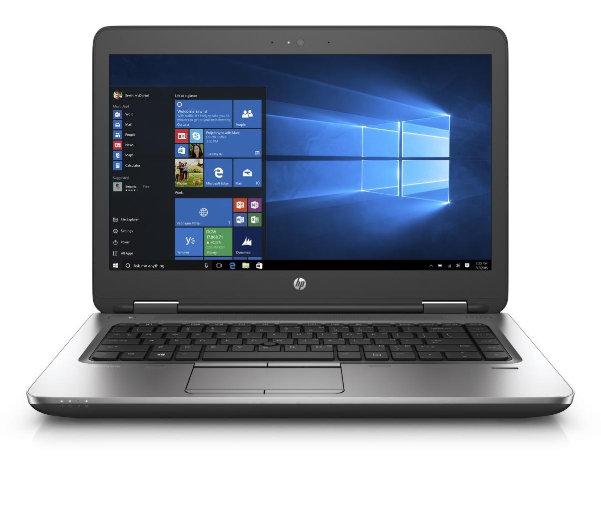 """HP ProBook 640 G2 i5-6200U/4GB/ 500GB/ 14"""" HD/ Win 10 Pro + Win 7 Pro"""